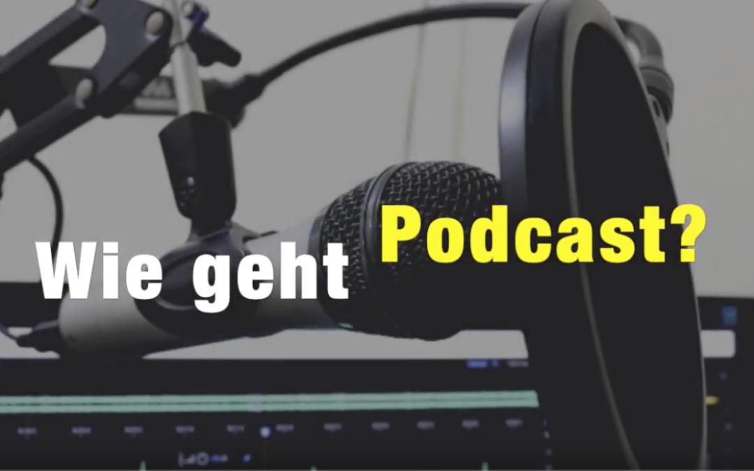 Wie geht Podcast? – 3 Experten stellen sich Deinen Fragen #1